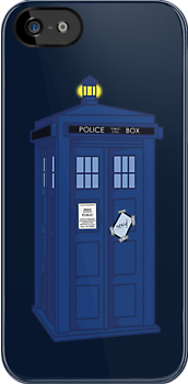 Sexy &amp; I know it - TARDIS by redrockit