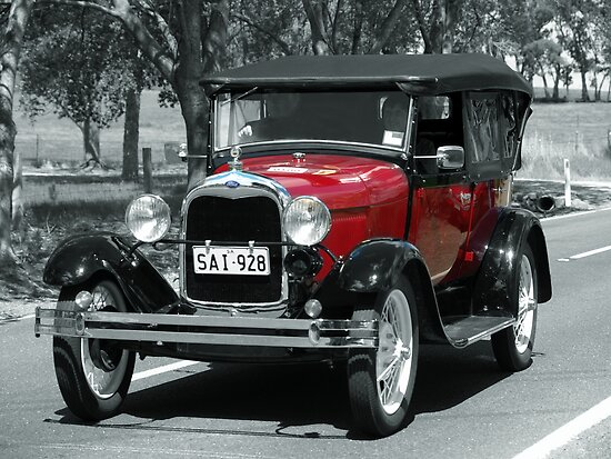 Ford A 1928 by Geoffrey Higges