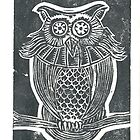 Owl Stamp by MarikaMakes