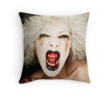 Le Cirque Du Vampire Throw Pillow