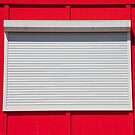 White Shuttered Window by phil decocco