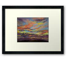 Atahualpa Sunset Framed Print