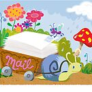 Snail Mail Greetings by jillhowarth