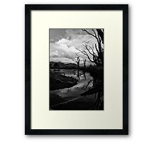 Mitta River, North East Victoria Framed Print