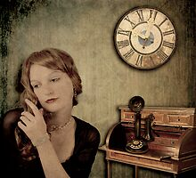 A Shocking Lack Thereof or Never Wait By the Phone by tori yule