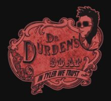 Come one, come all, for Durden's amazing soap! by thelastfreenoob
