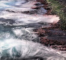 Valletta sea shore 2 by keith calleja