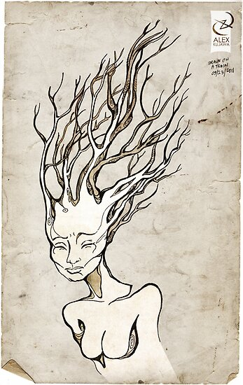 Dryad's Thoughts by AlexKujawa