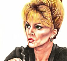 Joanna Lumley plays Patsy Stone by Margaret Sanderson