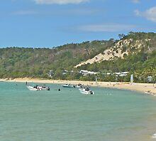 Tangalooma Beach by Graeme  Hyde