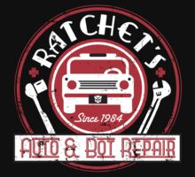Ratchet's Auto & Bot Repair by Staberella