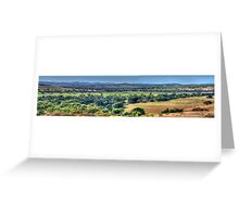 Patchwork - Jugiong, NSW Australia (30 Exposure Panorama) - The HDR Experience Greeting Card