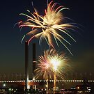 New Year's Eve 2011 at Docklands II by Andrejs Jaudzems