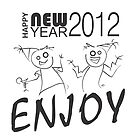 New year card by Niharika Singhal