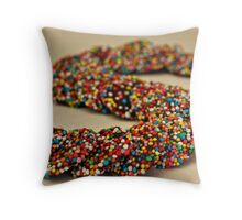 S.......is for Sprinkles!! Throw Pillow