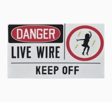 Danger Live Wire by Bill Cannon