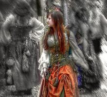 Damsel of the Renaissance Faire HDR by bannercgtl10