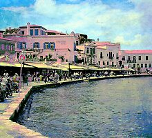 The Venetian Port of Chania by Igor Shrayer