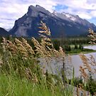 Mount Rundle and Vermillion lakes by fotosky
