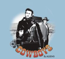 Cowboys And Aliens (v.2) Kids Clothes