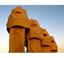 The Soldiers of la Pedrera Photographic Print