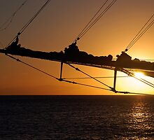 Bowsprit Sunset by Leon Heyns