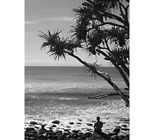 Quiet day @ the beach Photographic Print