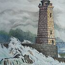 St. Georges Reef Lighthouse by Sally Sargent