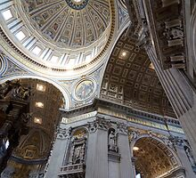 St Peter's Basilica, Vatican City by Eric Peterson