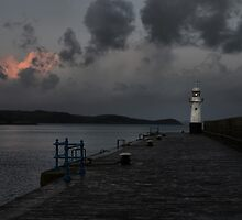 Mevagissey Light by Paul Gibbons