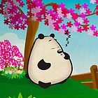 Napping Panda Too by FredzArt