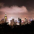 Hong Kong At Night by Paul Thompson Photography