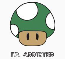 Mushroom-I'm Addicted Green by Lafosse