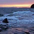 Dawn of 2012 Mayne Island  by TerrillWelch