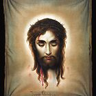 Veronica's Handkerchief (Image of Christ) by Jeff Vorzimmer