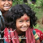 Faces of Nepal by Jan Vinclair