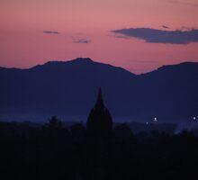 Purple Mountains in Dreams by cishvilli