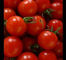 Cherry Tomatoes by the Handful by Heidi Hermes