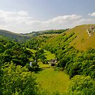 Upperdale from Monsal Head  by Rod Johnson