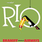Braniff Airways Rio 1 by Jeff Vorzimmer