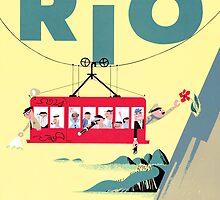 Braniff Airways Rio 2 by Jeff Vorzimmer