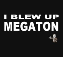 Fallout: I blew up megaton by Genus Bombus