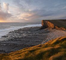Glamorgan Heritage Coast, Nash Point by Steve  Liptrot