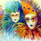 Collection of masks by Ivana Pinaffo