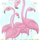 Flamingo by nearsightedowl