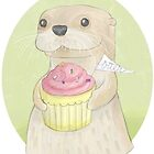 Otter by nearsightedowl