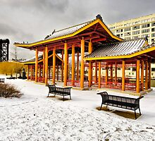 Pagoda, Ping Tom Memorial Park by James Watkins