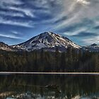 Mt. Lassen Reflection by dwservingHim