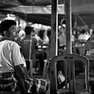Gili T Night Market by Anthony Evans