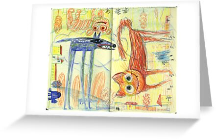 topsy-turvy world by Marianna Tankelevich